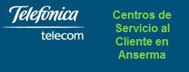 Oficinas y centros de servicio de Telefonica Telecom, ciudad: Anserma Caldas – Colombia