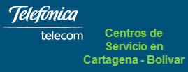 Oficinas y centros de servicio de Telefonica Telecom, ciudad: Cartagena Bolivar – Colombia