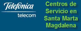 Oficinas y centros de servicio de Telefonica Telecom, ciudad: Santa Marta Magdalena- Colombia