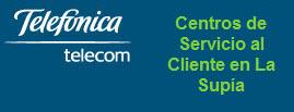 Oficinas y centros de servicio de Telefonica Telecom, ciudad: Supía Caldas – Colombia
