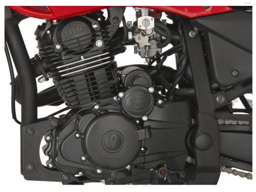 AKT AK 180XM 2012, motor