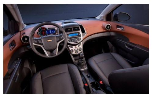 Chevrolet Sonic Hatchback 2012