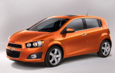 Chevrolet Sonic Hatchback 2012