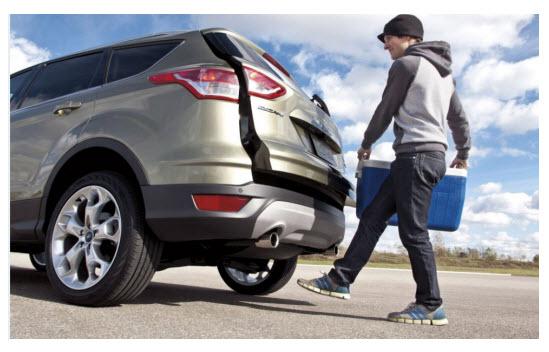 Ford Escape 2013, capacidad de carga