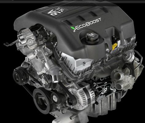 Ford F 150 2011, motor EcoBoost
