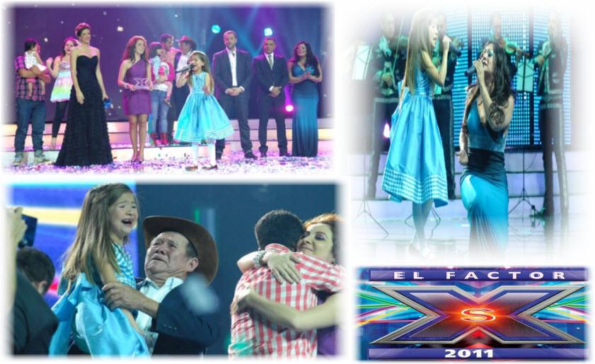 Ganadora del Factor XS 2011