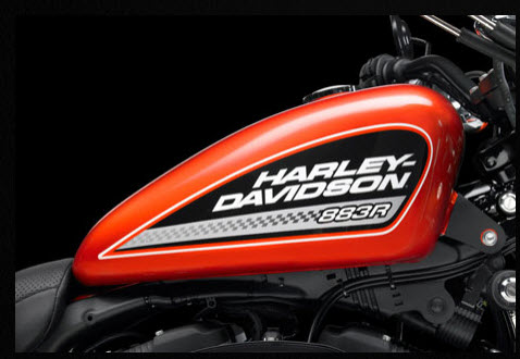 Harley Davidson 883 Roadster 2012, tanque de combustible