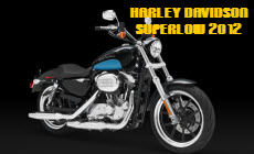 Harley Davidson SuperLow XL883L 2012