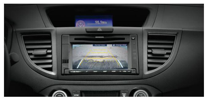 Honda CR-V 2012, cámara de reversa