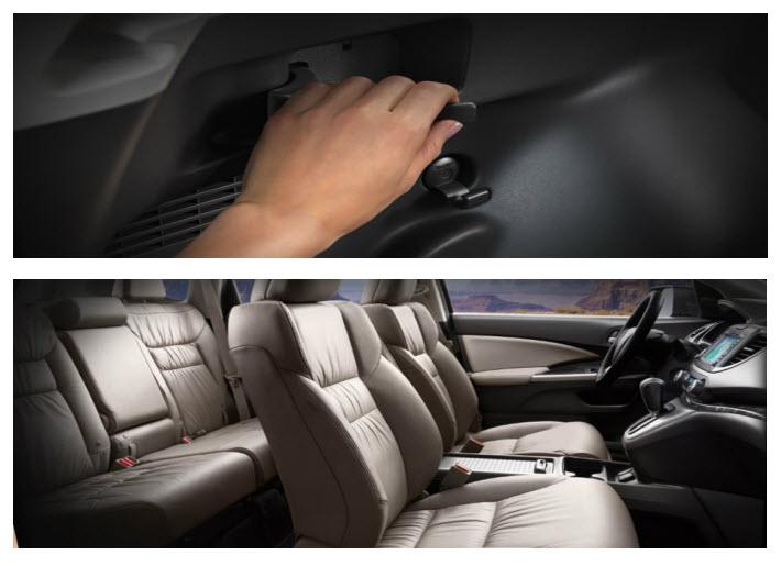 Honda CR-V 2012, diseño interior