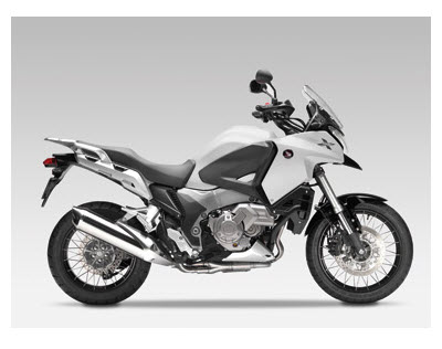 Honda Crosstourer 2012, color blanco perlado sunbeam