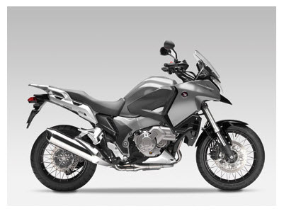 Honda Crosstourer 2012, color plata digital metalizado