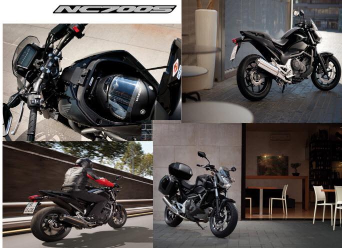 Honda NC700S 2012