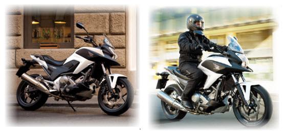 Honda NC700X 2012, diseño y confort