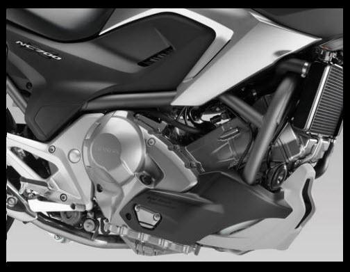 Honda NC700X 2012, motor
