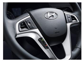 Hyundai i25 Hatchback, volante