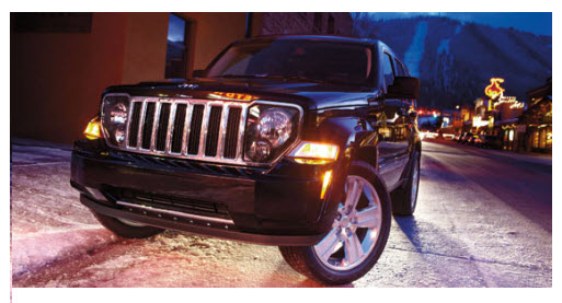 Jeep Liberty 2012 parte frontal