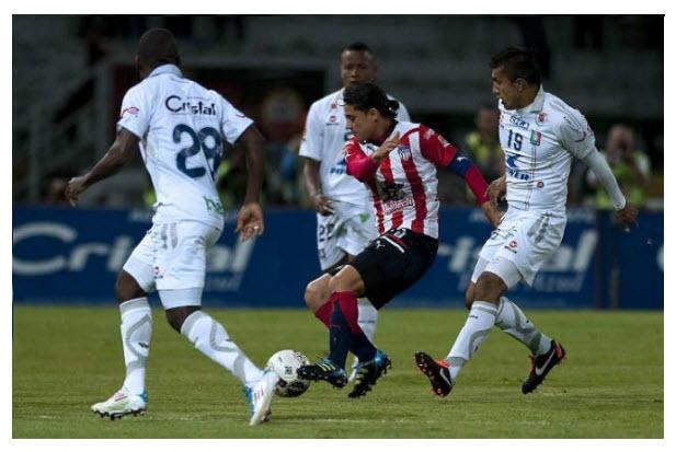Junior Campeon 2011 vs Once Caldas partido