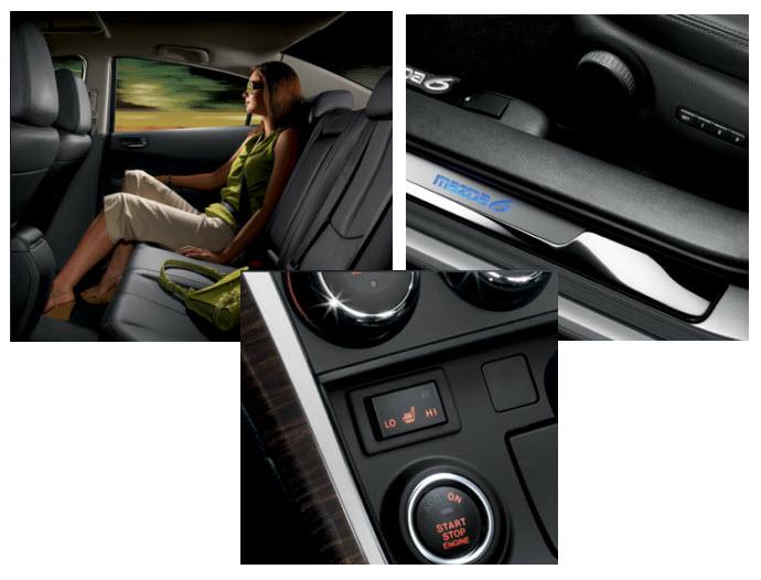 Mazda 6 2012, parte interior