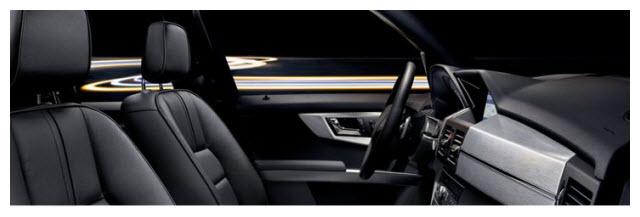 Mercedes Benz Clase GLK, diseño interior