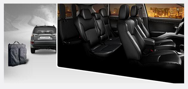 Mitsubishi Outlander, confort