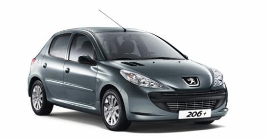 Peugeot 206 2012, desempeño