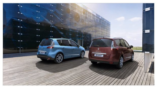 Renault Scenic 2012 | diseño exterior