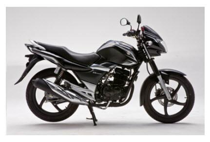 Suzuki GS 150 R 2012, color negro