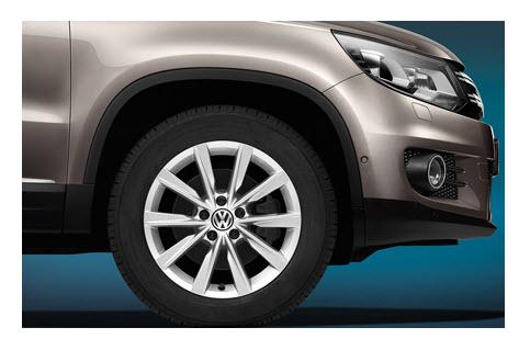 Volkswagen Tiguan 2012, llantas de aleación