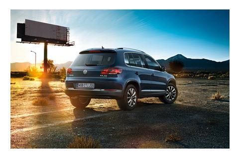 Volkswagen Tiguan 2012, luces traseras