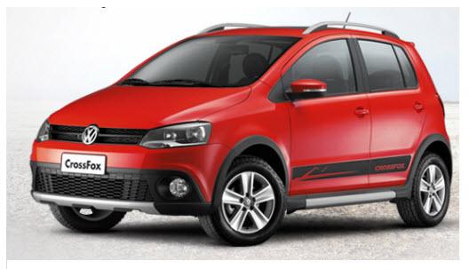 Volkswagen crossfox 2012