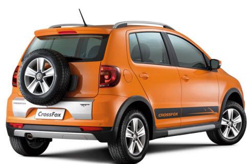 Volkswagen crossfox 2012, diseño deportivo