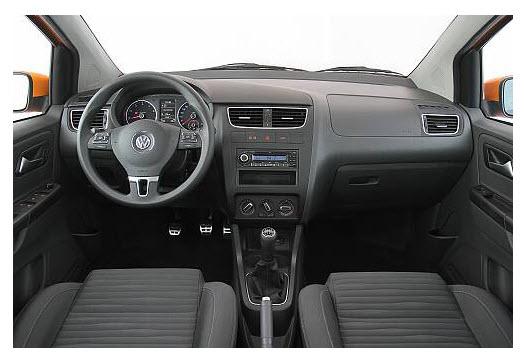 Volkswagen crossfox 2012, diseño interior