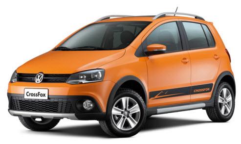 Volkswagen crossfox 2012, diseño