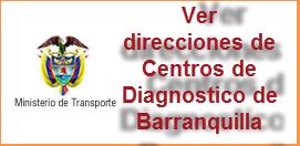 Direcciones de Centros de Diagnosticos ó CDA en Barranquilla Atlántico