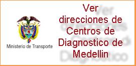 Direcciones de Centros de Diagnosticos ó CDA en Medellin Antioquia