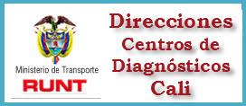 Direcciones de Centros de Diagnosticos ó CDA en Cali