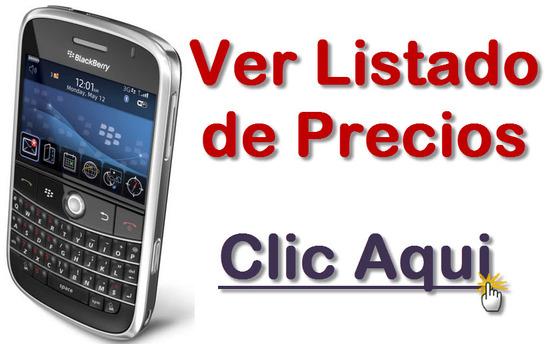 listado de ofertas de BlackBerry Bold