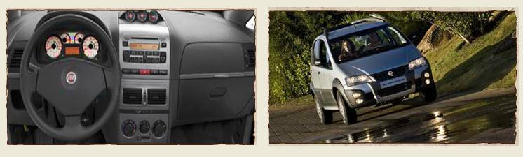 Fiat Idea Adventure Locker, Airbag
