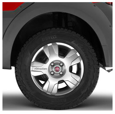 Fiat Idea Adventure Locker, neumáticos