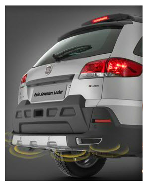 Fiat Palio Adventure Locker, sensores