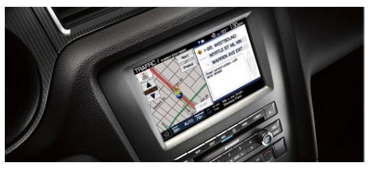 Ford Mustang 2012, sistema de navegación