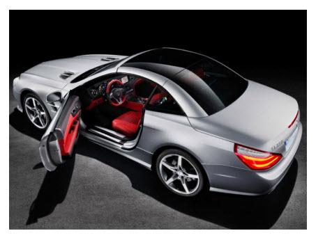 Mercedes Benz SL 2012