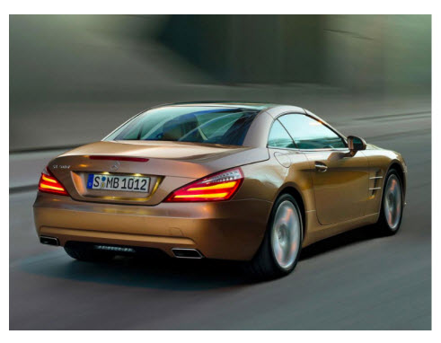 Mercedes Benz SL 2012