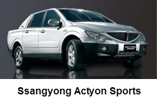 Ssangyong Actyon Sports Colombia