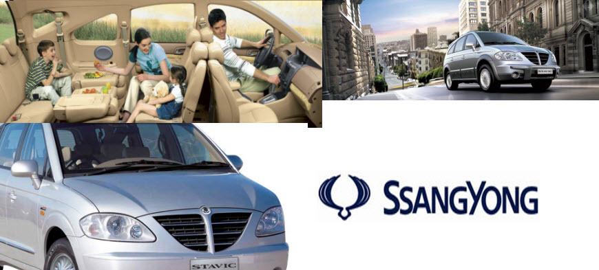 Ssangyong Stavic Diesel 2012