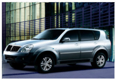 Ssangyong Super Rexton 2012 Colombia