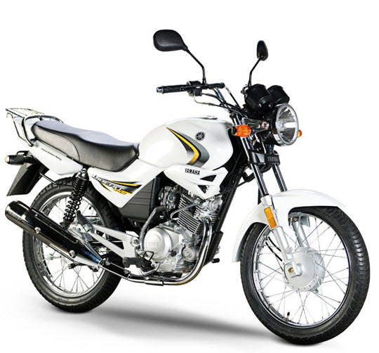 Imagen Yamaha libero 125 blanca