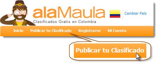 alaMaula, Registrarse Paso 1