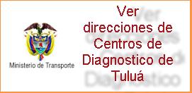 Direcciones de Centros de Diagnosticos ó CDA en Tulua Valle